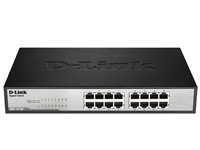 D-LINK DGS-1016C 16 PORT 10/100/1000 RACK MOUNT SWITCH