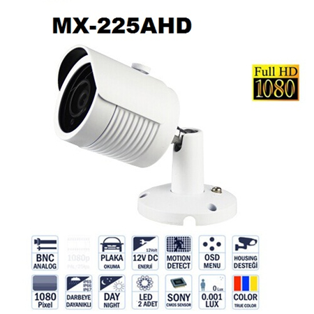 MX-225AHD 2 MP AHD KAMERA